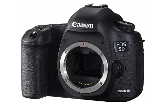 Canon 5D Mark III front