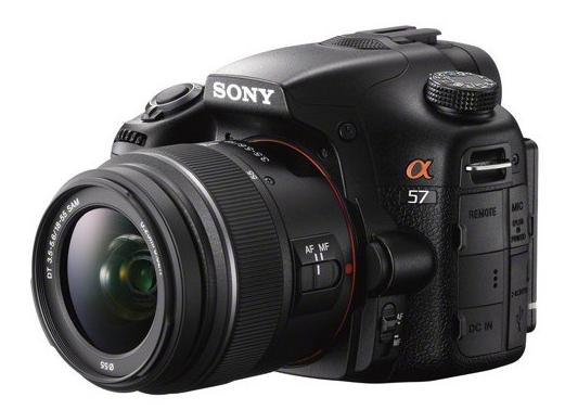 Sony A57 front